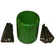 Logging Rope Ferrule 25mm Green