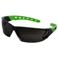 Safety Glasses Mack Smoke Green Arm