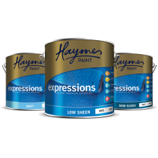 Haymes Expressions Low Sheen Acrylic Dark Tint 10L