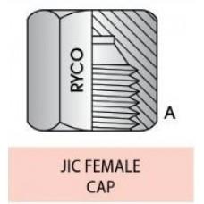Cap S65-07 7/16 JIC