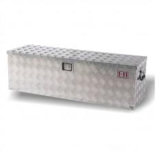 Aluminium Checkplate Toolbox 1250mm Wide