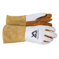 Welding gloves deer hide large