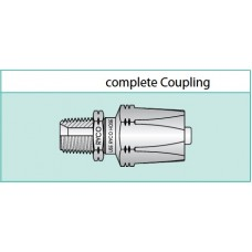 Reuseable Coupling 1/2 Two Wire Braid Hose 3/4 JIC Male L030-0812