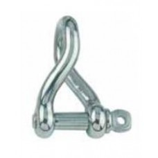 Stainless Steel Twist D Shackle 6mm